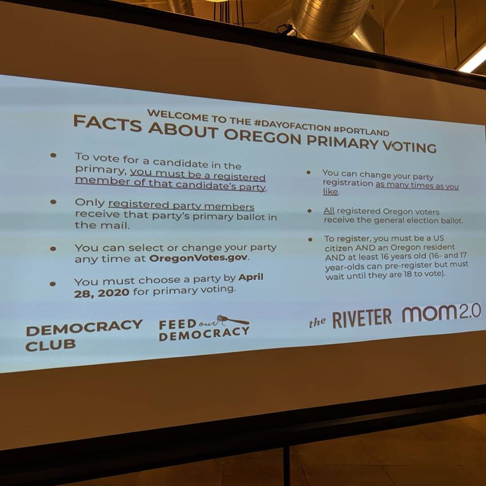 Facts about Oregon primary voting